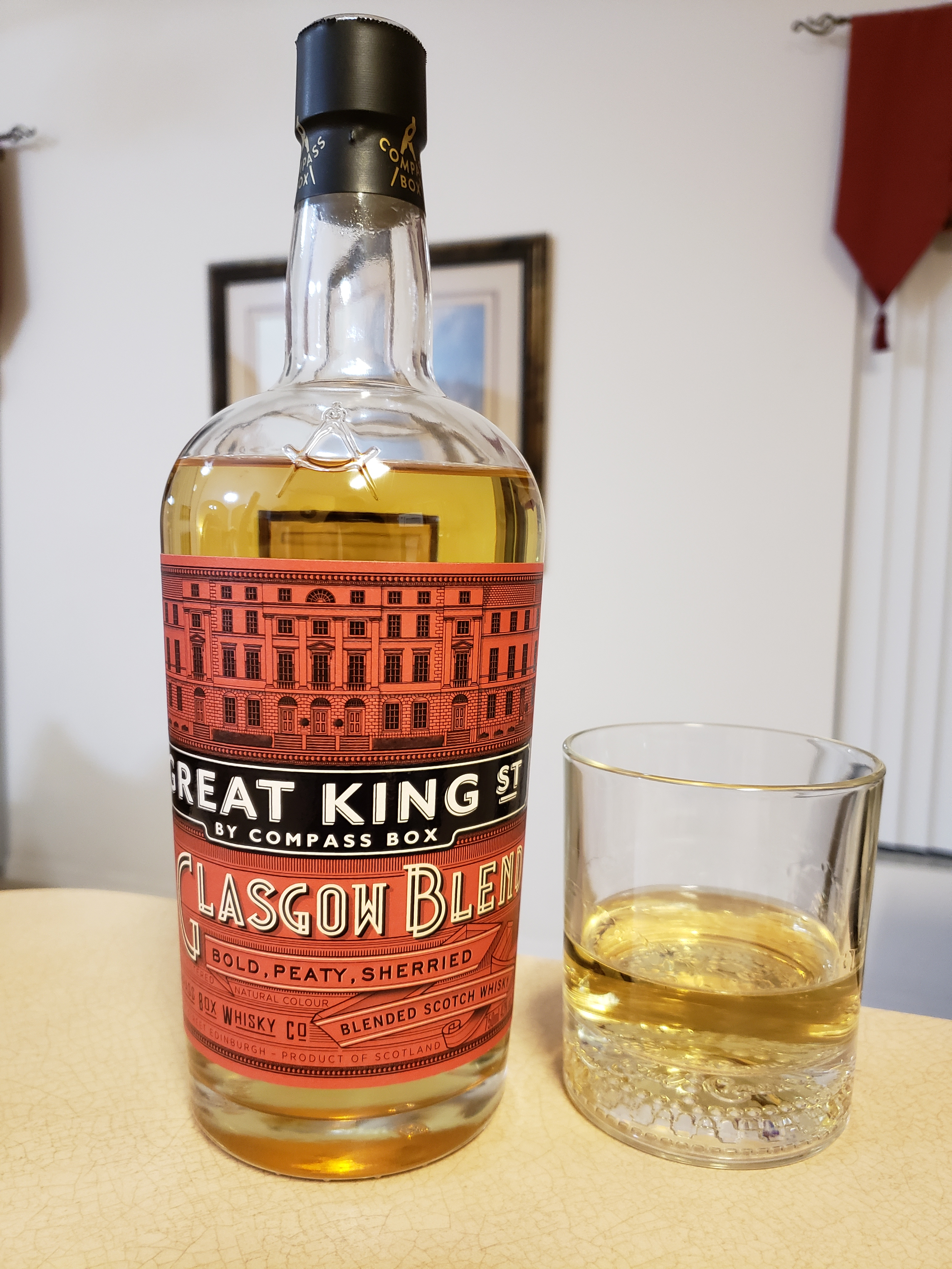 Review – Compass Box, Great King Street Glasgow Blend, (No Age ...
